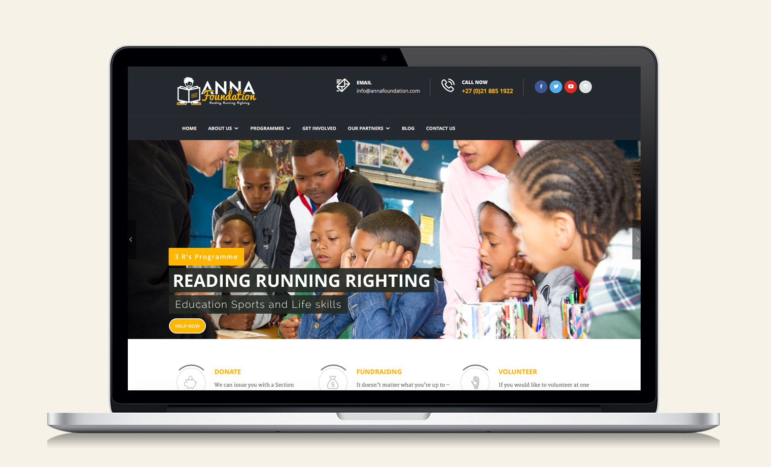 ANNA FOUNDATION WEBSITE