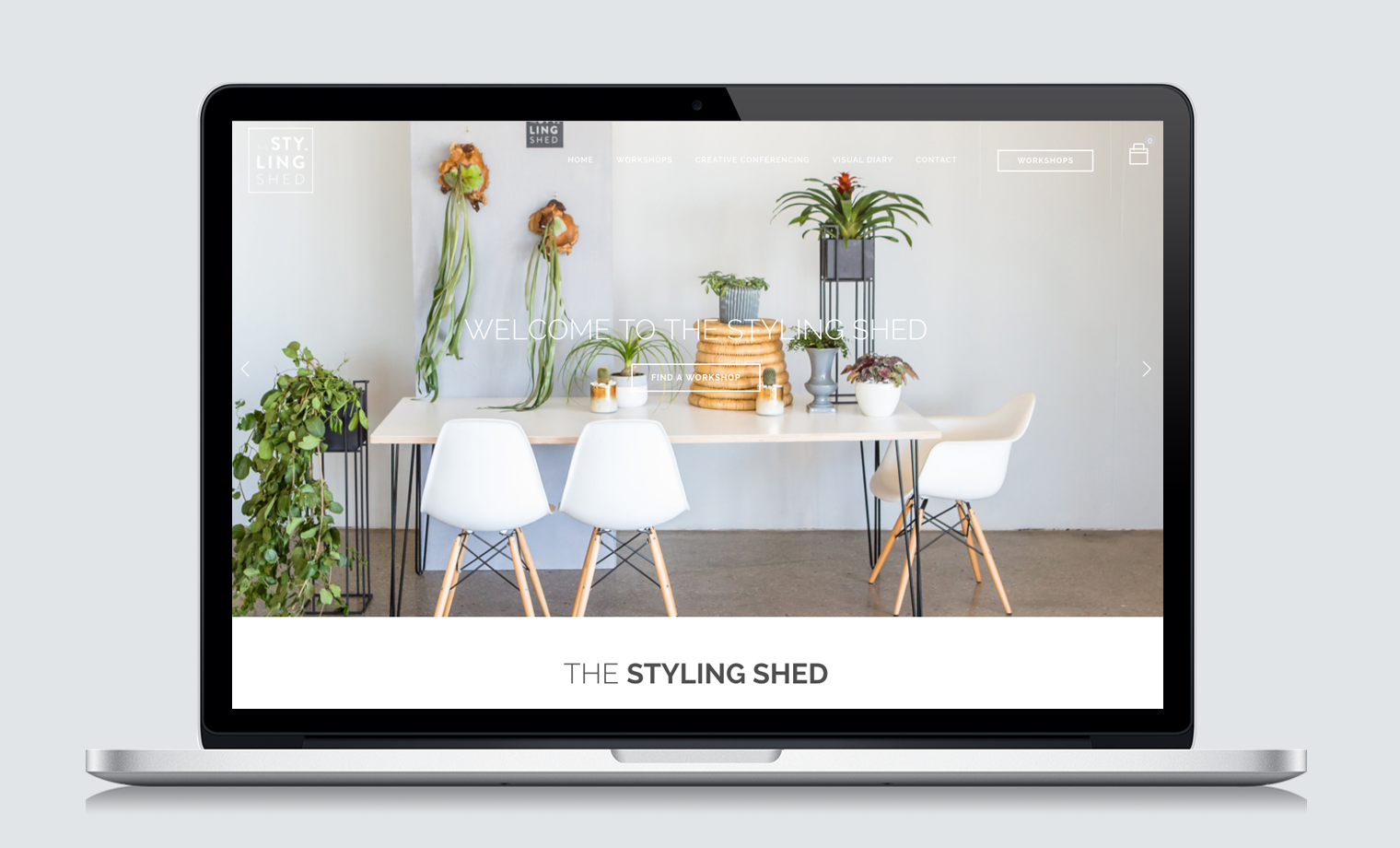 THE STYLING SHED WEBSITE