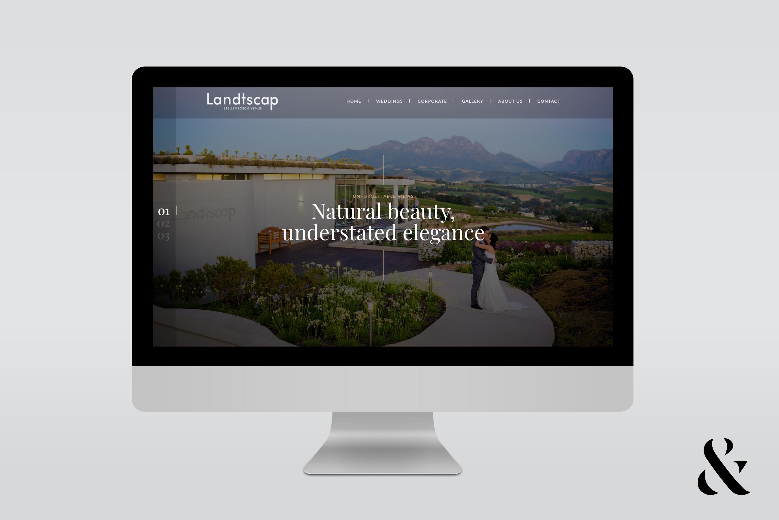 Landtscap Website