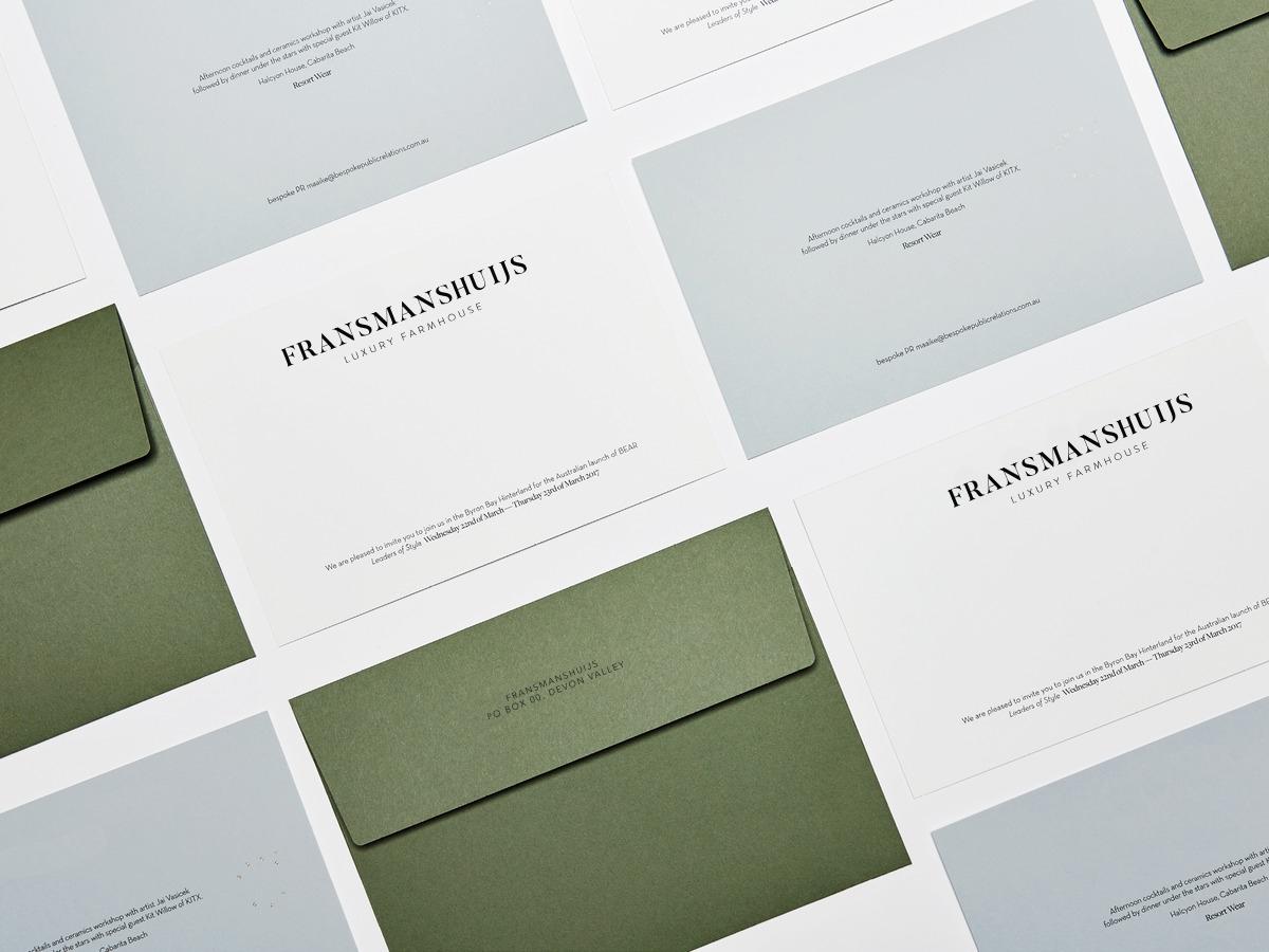 Fransmanshuijs Luxury Farmhouse Branding
